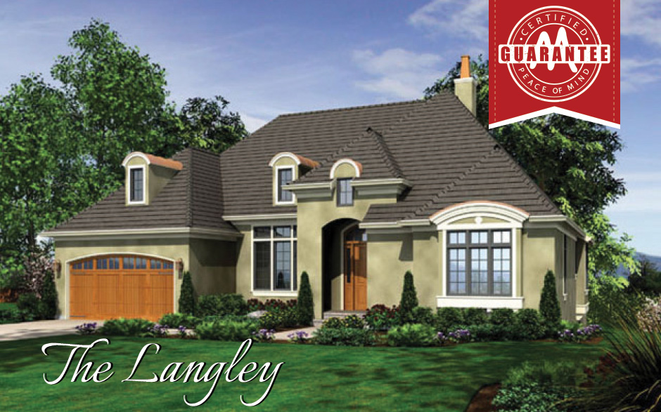 The langley custom home builder maxmark homes llc feed for Langley home